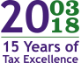 15 Years of Tax Excellence