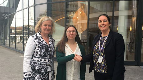 Nicky, Claire and Zoe - Chartered Management Degree Aprenticeship