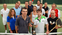 Victory in the 9th annual Solent Property Tennis Tournament
